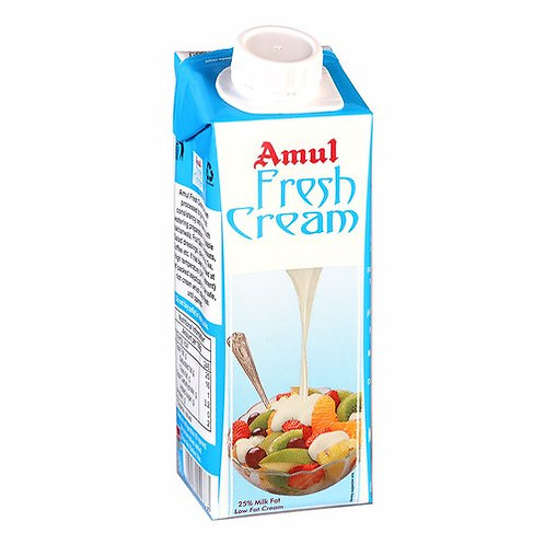 Amul Fresh Cream Tetra Pack, 250 g