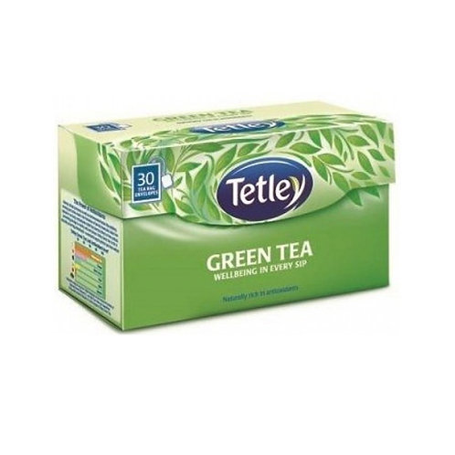 Tetley Green Tea Bags Regular, 25 Bags