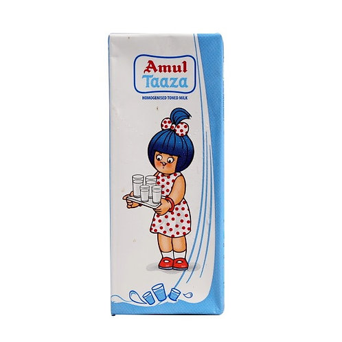 Amul Tazza Toned Milk 200 ml