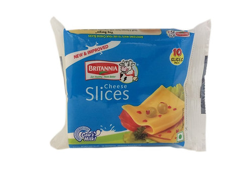 Britannia Processed Cheese Slices, 200 g