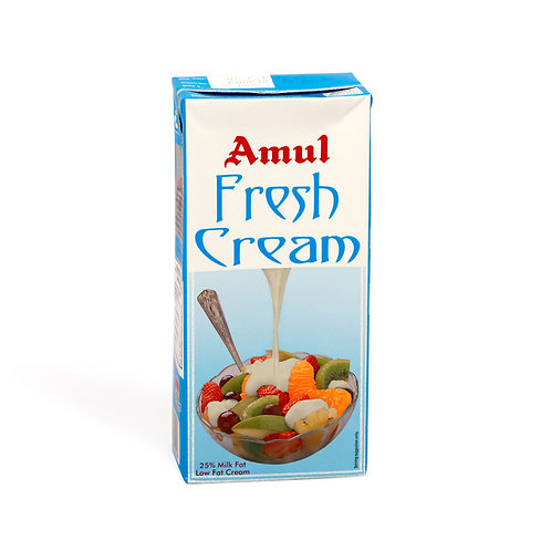 Amul Fresh Cream Tetra Pack, 1 L