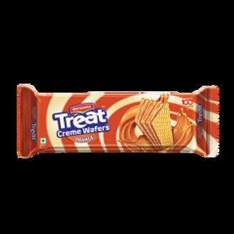 Briatnnia Treat Cream Wafer Creme Orange, 75 g