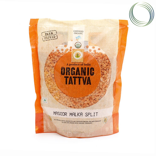 Organic Tattva Masoor Malka Split, 500 g