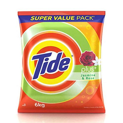 Tide Plus Extra Power Jasmine & Rose Detergent Powder 6kg