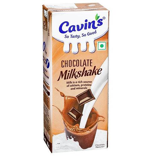 Cavin's Chocolate Milkshake 180 ml Pack of 4