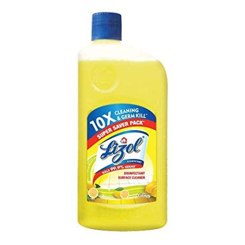 Lizol Citrus Floor Cleaner, 975ml