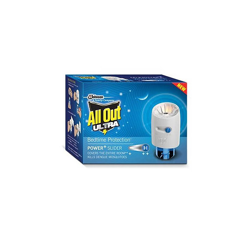 All Out Ultra Power + Slider Mosquito Repellent (2 Refills + Machine)