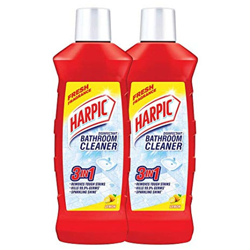 Harpic Floral Bathroom Cleaner - Pack of 2