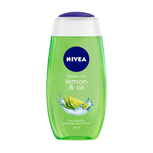 Nivea Shower Gel Lemon And Oil, 250 ml