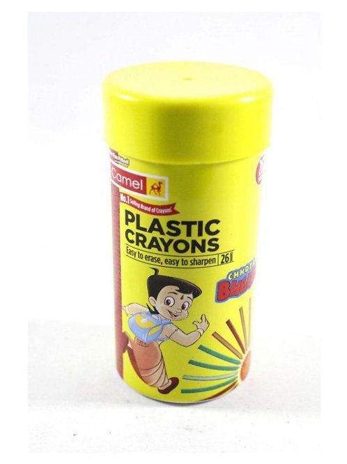 Camlin Plastic Crayon 26 N
