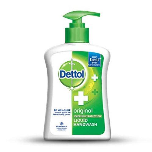 Dettol Handwash Orginal, Pump, 200 ml