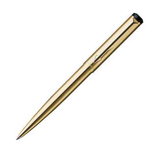 Parker Vector Roller PenBlue Ink, Gold Plated