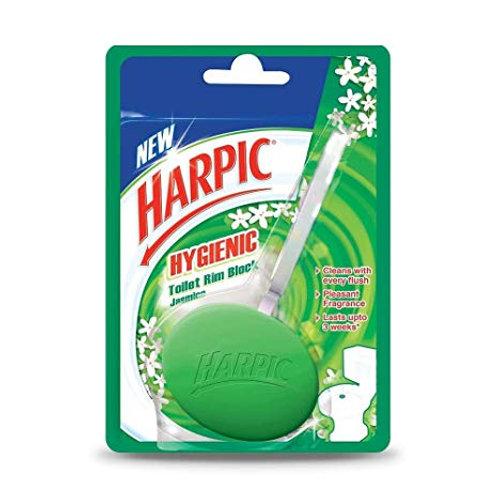 Harpic Hygienic Jasmine Toilet Rim Block