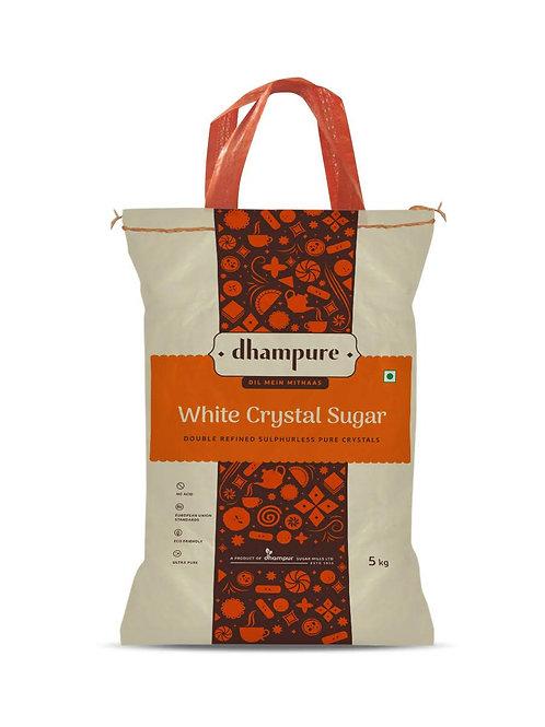 Dhampure White Crystal Sugar 5kg