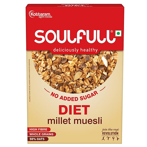 Soulfill Chocofill Muesli Diet 400 g