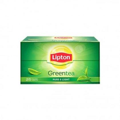 Lipton Pure & Light Green Tea Bags 25 N
