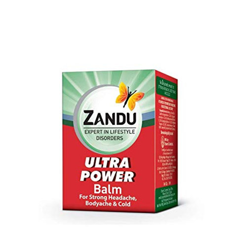 Zandu Balm Ultra Power, 8 ml