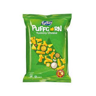 Kurkure Puffcorn Yummy Cheese Crisps - Pack of 2