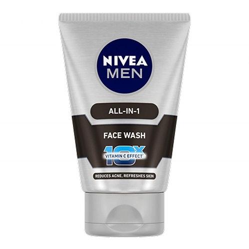 Nivea Men Face Wash All in One, 50 g