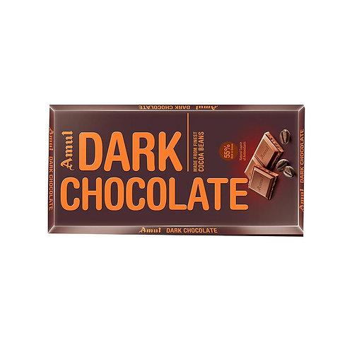 Amul 55% Cocoa Dark Chocolate