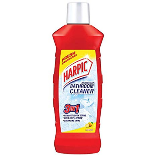 Harpic Bathroom Cleaner Lemon, 1 L
