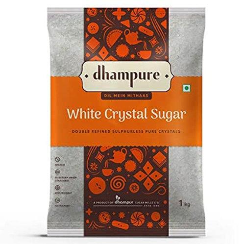 Dhampure White Crystal Sugar 1 kg