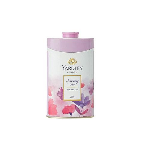 Yardley Deodorizing Talcum Powder Morning Dew, 100 g
