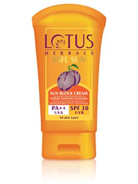 Lotus Sun Block SPF 30, 50 g
