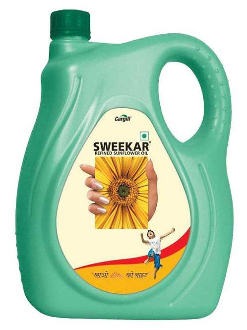 Sweekar Lite Sunflower Oil 15L