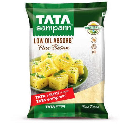 Tata Sampann Low Oil Absorb Fine Besan , 1kg