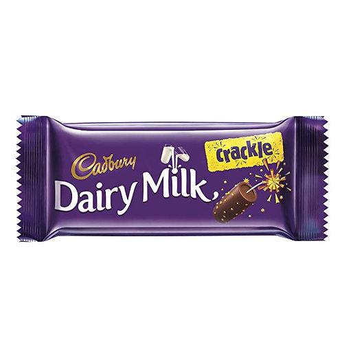 Cadbury Dairy Milk Chocolate Bar Crackle, 38 g