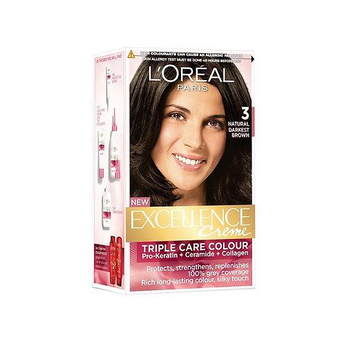 L'Oreal Paris Hair Natural dark Brown Hair Colour 72 ml + 100 g