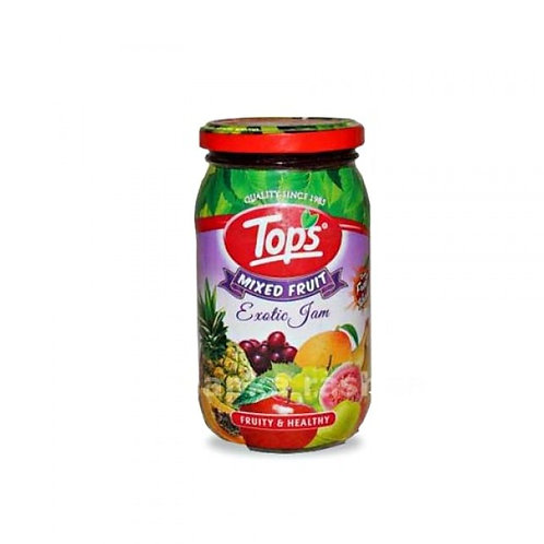 Tops Jam Mixed Fruit, 500 g