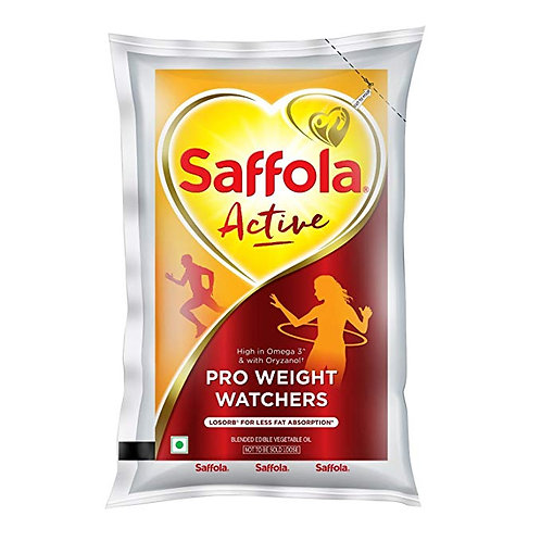 Saffola Active Pro Weight Watchers Edible Oil (Pouch)
