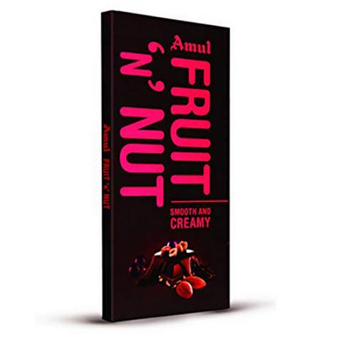 Amul Fruit & Nut Chocolate