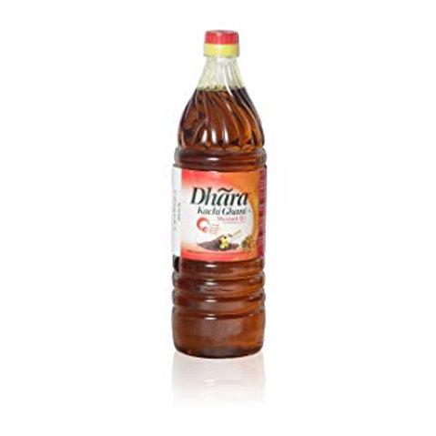 Dhara Mustard Oil (Bottle)