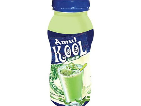 Amul Kool Elaichi Drink 180 ml Pack of 3