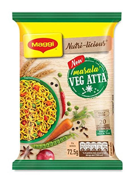 Maggi Noodles Atta Masala, 72.5 g