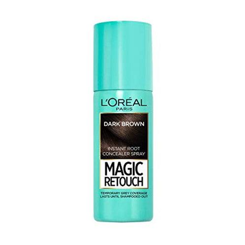 L'Oreal Paris Instant Hair Spray Dark Brown, 75 ml