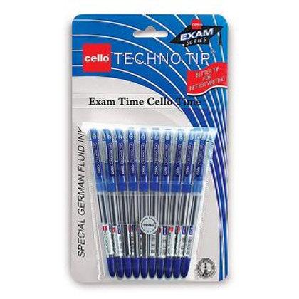 Cello Blue Technotip Ball Pen 10N