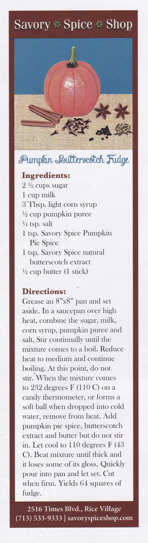 Pumpkin & Spice