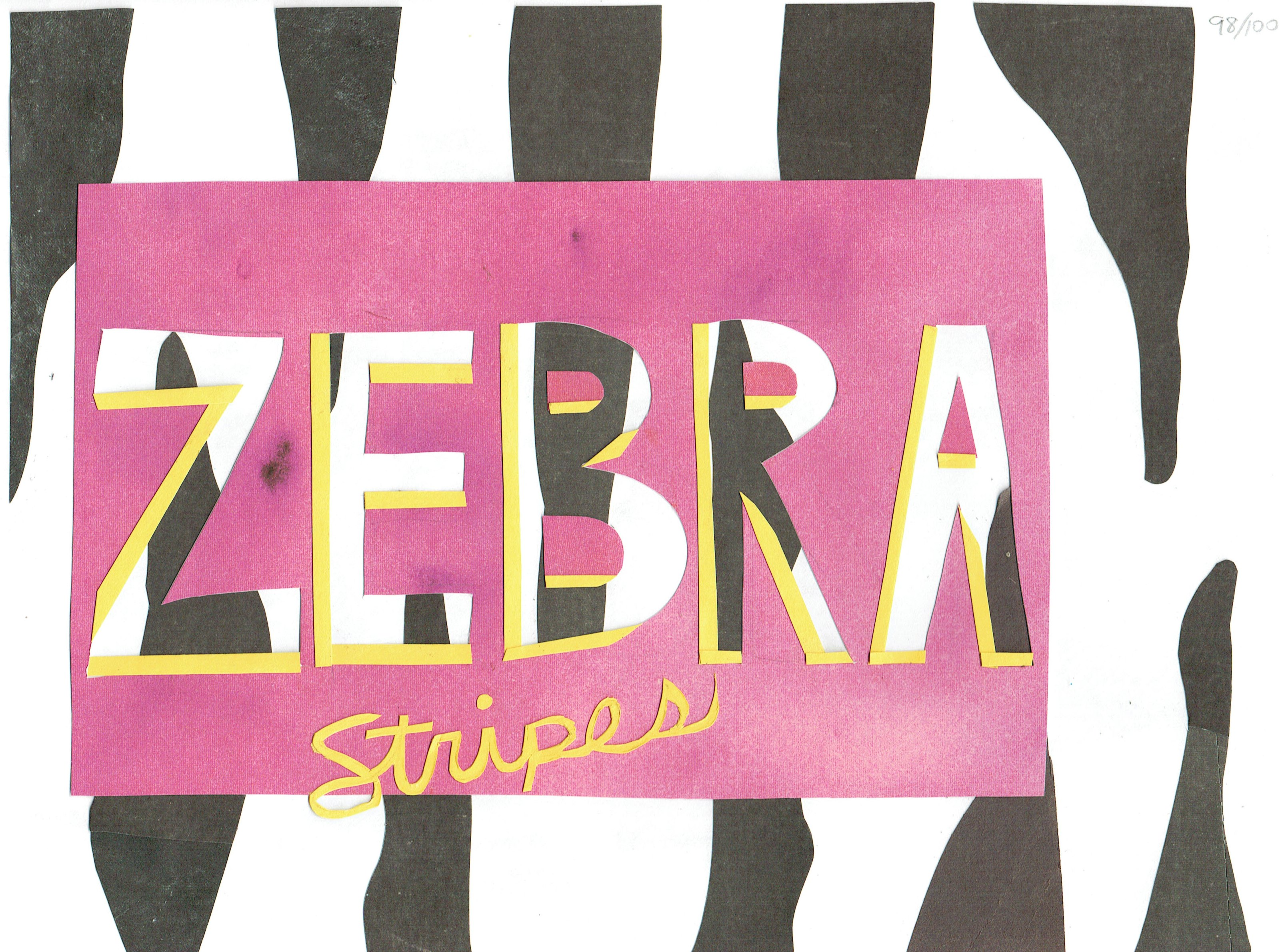 Day 98 - Zebra Stripes