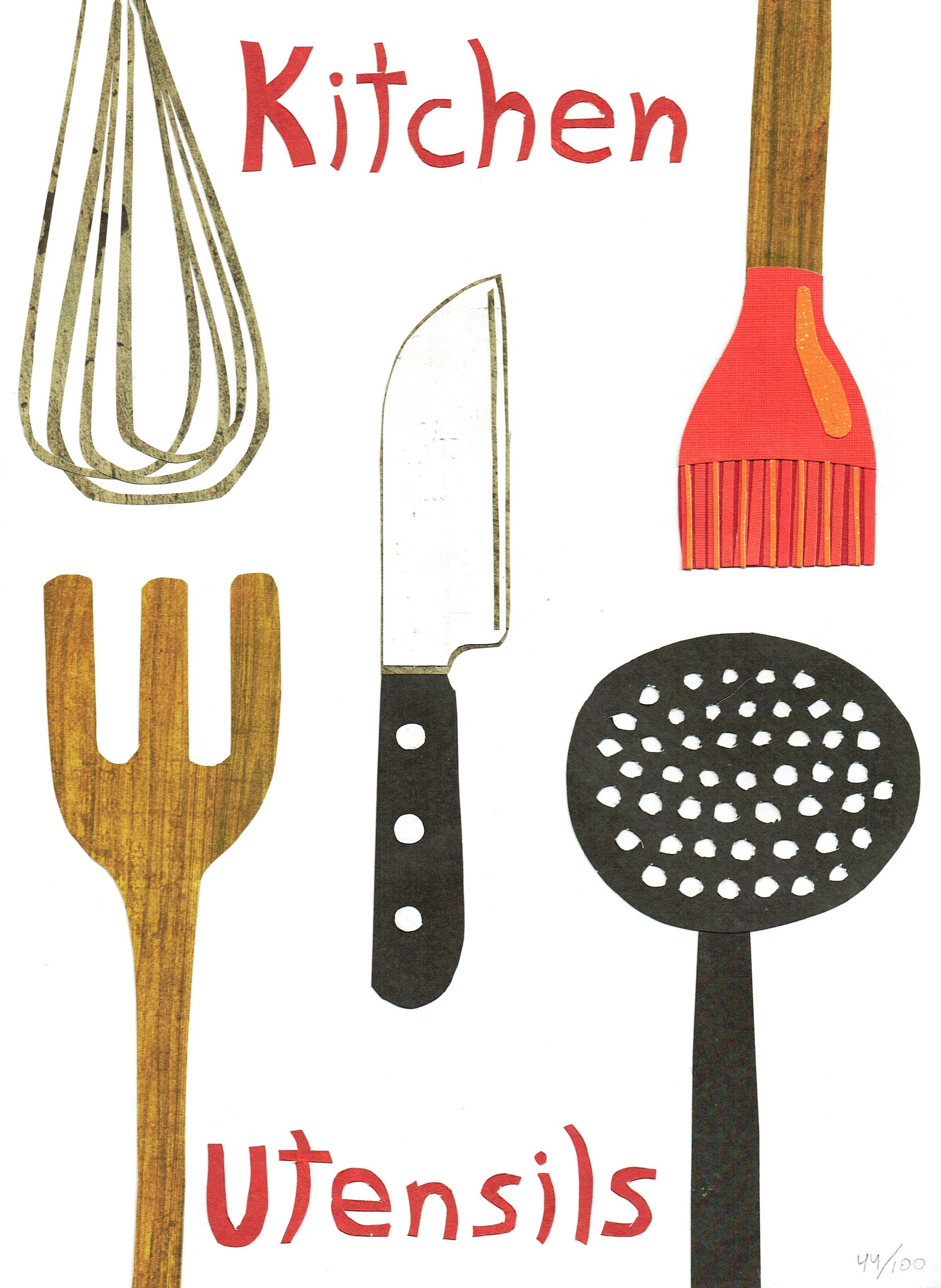 Day 44 - Kitchen Utensils