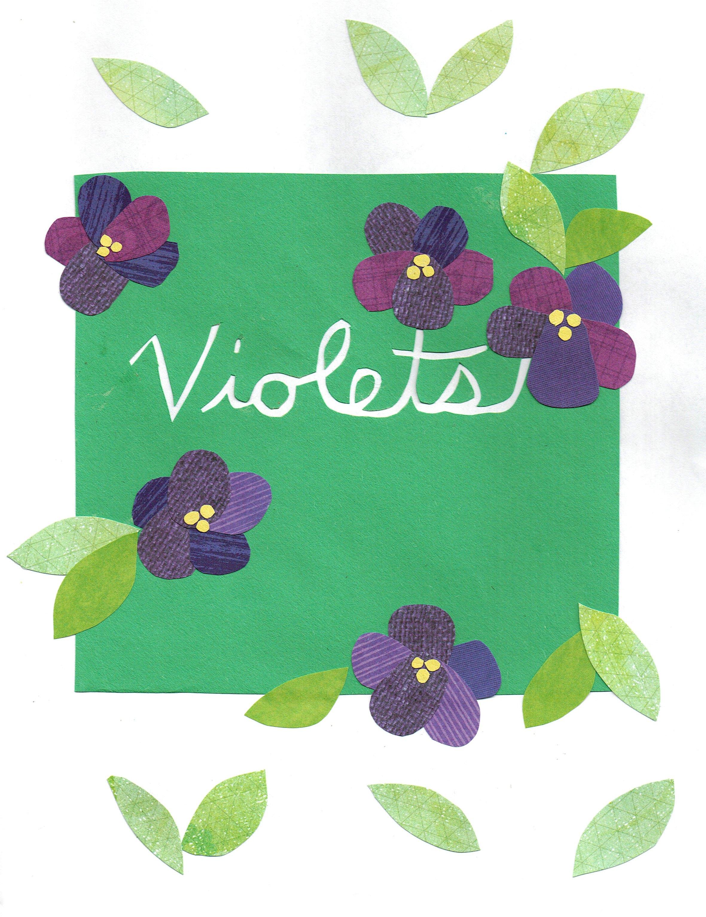 Day 85 - Violets