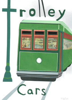 Day 78 - Trolley Cars