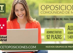 Oposiciones Comunidad de Madrid