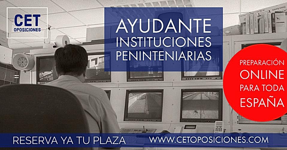 Oposiciones Ayudnate instituciones penit