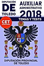 Temas y Tests Auxiliar Administrativo Diputación Provincial de Toledo