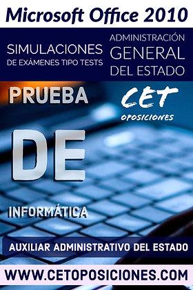 Test 8 Informática Auxiliar Administrativo Estado: Test Nº 8 - 150 Pregun