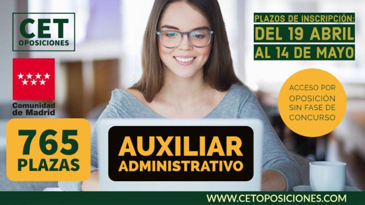 Oposiciones auxiliar administrativo comu